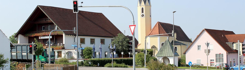 Reichertshausen Dorfplatz